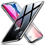 ESR 9H Gehärtetes Glas Hülle für iPhone X TPU Rahmen Kratzfest Durchsichtige Handyhülle...