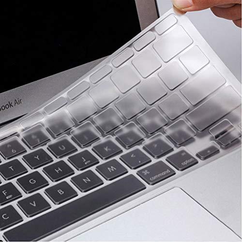 nuoshen Tastaturschutz, Ultra Dünn Tastatur Schutzfolie Cover Tastatur Abdeckung (Durchsichtig)