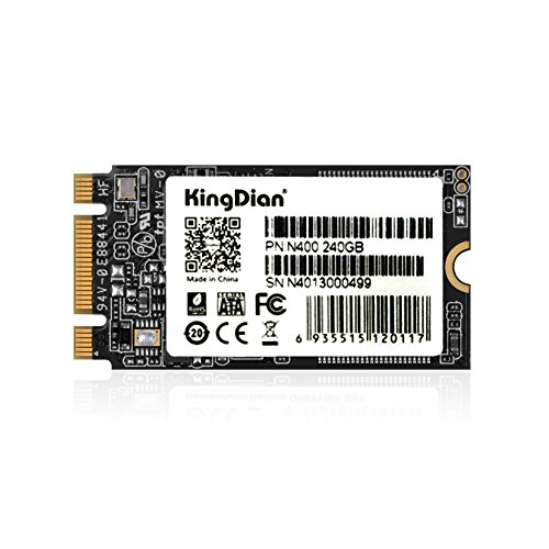 KingDian M.2 NGFF SSD 120GB 240GB 512GB 1TB Solid State Drive Disk 2242 for Desktop PCs and MacPro (120GB)