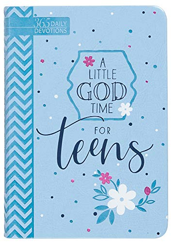 A Little God Time for Teens: 365 Daily Devotions (faux leather gift edition)