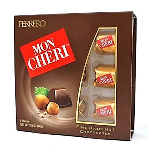 Ferrero Mon Cheri Hazelnut Chocolates 9 pieces (1)
