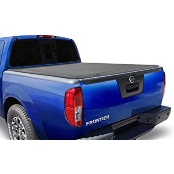 Tyger Auto T3 Soft Tri-Fold Truck Bed Tonneau Cover for 2005-2020 Nissan Frontier 2009-2012 Suzuki Equator Fleetside 5' Bed TG-BC3N1028