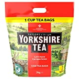 YORKSHIRE 1 CUP TEA BAGS 1109 PK1200
