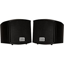 cheap AA321B Indoor Audio Speaker, 400W Black Bookshelf Speaker