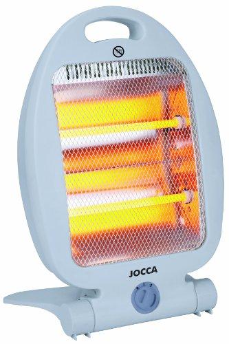 Jocca 2824 Calefactor de cuarzo, Blanco
