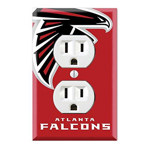 Duplex Wall Outlet Plate Decor Wallplate - Falcons