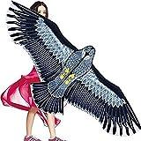 XZWJ Gran Cometa Eagle Bird para Niños Y Adultos - Fácil De Montar Y Volar - 1.8M Eagle Kite con 100M Kite String, Excelente Juguete para Exteriores