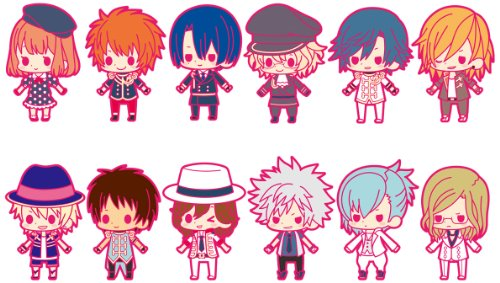 Uta no Prince sama Debut Rubber Strap Collection [Toy] (japan import)