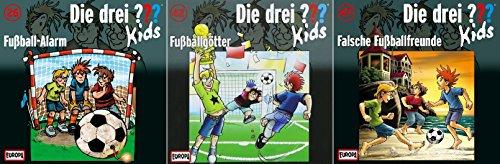 Die Drei ??? (Fragezeichen) Kids - die Fußball-Folgen (26+42+47) im Set - Deutsche Originalware [3 CDs]