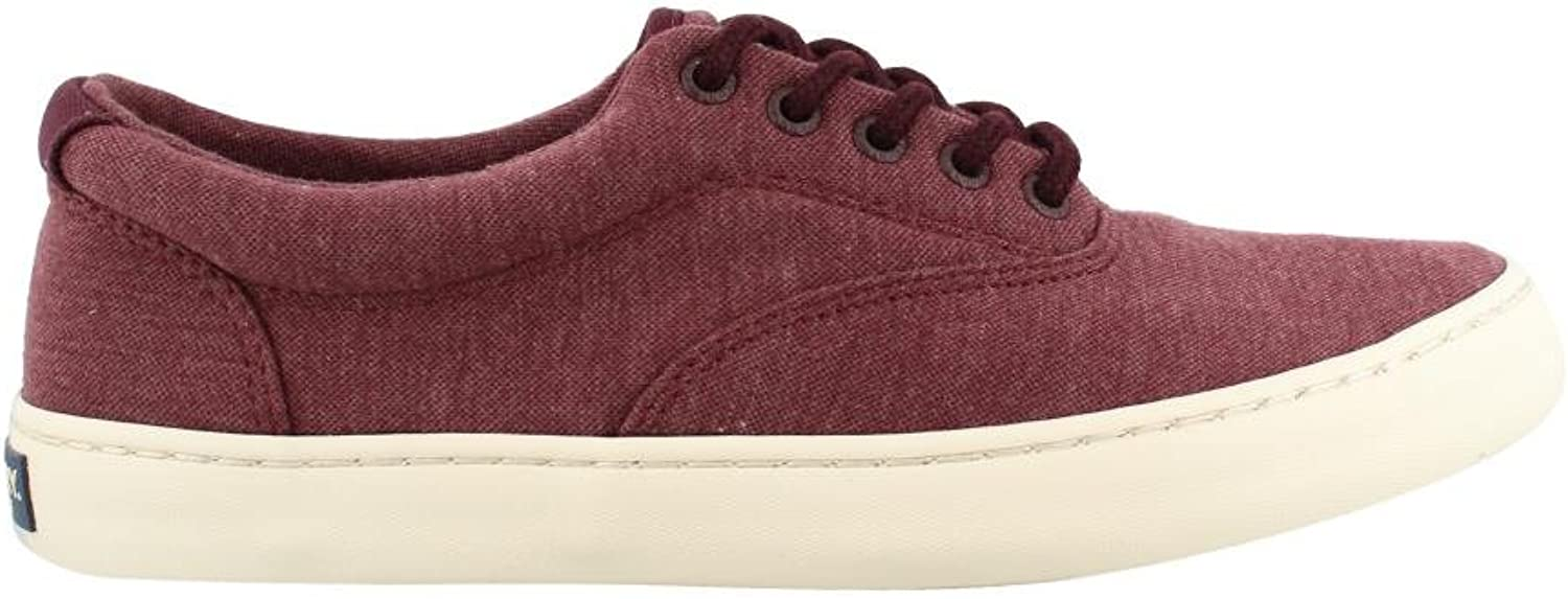 SPERRY Men's, Cutter CVO Jersey Lace up shoes Jersey Burgundy 11 M