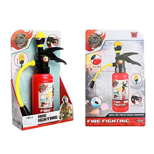 WISHTIME Fireman fire Extinguisher Toy Water Gun, Used for Role Playing, Water Spray Toys, Bathroom Toys, Parent-Child Interactive Toys.