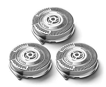 SH50 Cabezales de Afeitado de Repuesto Compatible con Philips Serie 5000, Poweka Cuchilla de Afeitar de Repuesto Compatible con Afeitadora Eléctrica Philips Norelco Razor