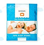 Sleep Strips by MYOTAPE | Improve Your Sleep Quality, Breathe Through Your Nose During Sleep and Reduce Mouth Breathing and Snoring [Expert Designed Mouth Tapes Using Elastic Tension]