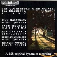 モルテンセン:木管五重奏曲; ホルンボー:ノットゥルノ; プーランク:六重奏曲 [Import]/Gothenburg Wind Quintet & Eva Knardahl, piano