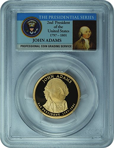 2007 Adams Presidential Dollar PR-70 PCGS DCAM