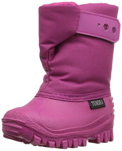 Tundra Teddy 4 Stiefel (Kleinkind/kleines Kind), Pink (cherry), 25 EU
