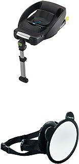 Maxi-Cosi EasyFix Isofix base für Babyschale CabrioFix, schwarz  Großer Baby Rückspiegel für alle Autos, Autospiegel, Sicherheitsspiegel, Rücksitzspiegel
