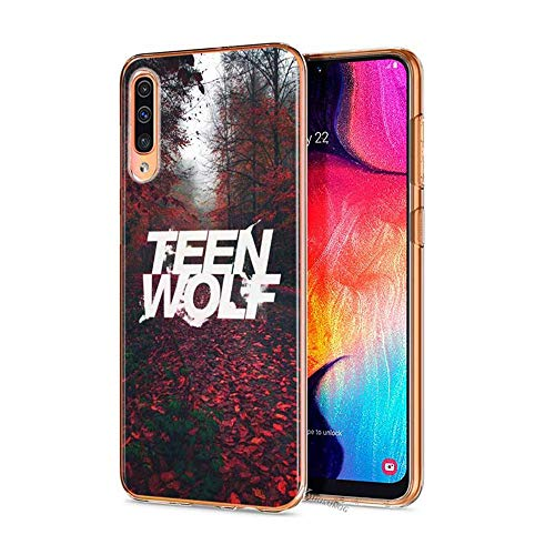 Zhusha Awesome Teen Wolf Style for Cover Samsung Galaxy Silicone Transparent Case Style 01 for Cover Samsung A40