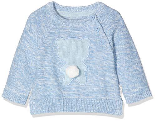 Mothercare NB MFB Novelty Jumper Pull, Noir (Blue 128), 6-9 Months (Size:74) Mixte bébé