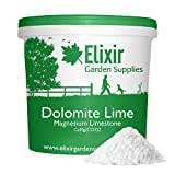 Elixir Gardens Garden Lime Powder Soil Conditioner Limestone Dolodust 5kg Tub
