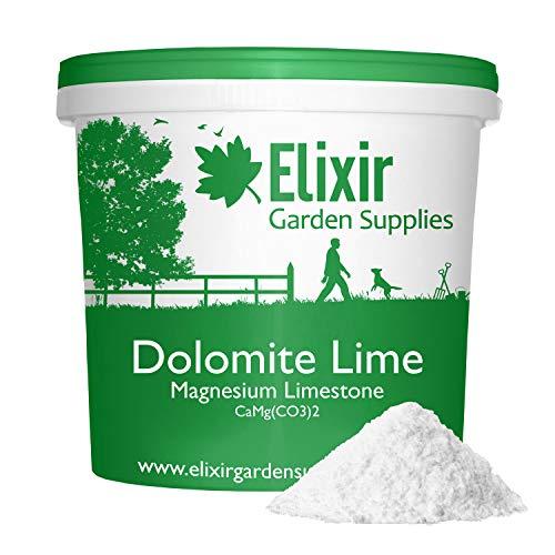 Elixir Gardens Garden Lime Powder Soil Conditioner Limestone Dolodust 5kg Tub