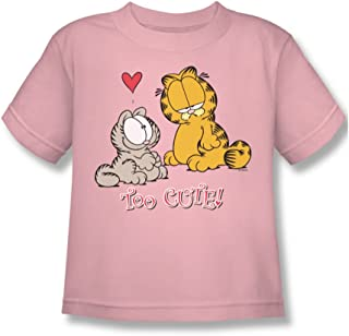 Garfield Too Cute Little Boys T-Shirt in Pink