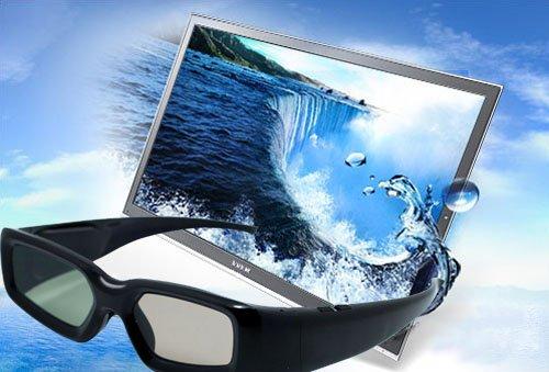4 x UNIVERSAL Gafas 3D con obturador para Sony, Panasonic, Samsung (LCD...