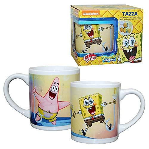 Auswahl Porzellan Tasse   SpongeBob   250 ml   Henkel-Becher in Geschenkbox