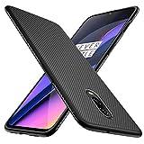 iBetter Coque Oneplus 6T, étui en Silicone Ultra Mince, Durable,pour Oneplus 6T Smartphone(Noir)