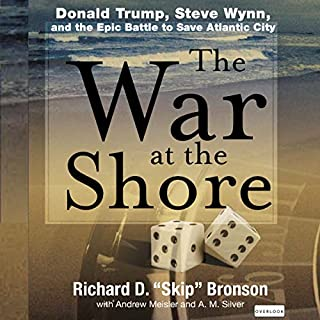 The War at the Shore: Donald Trump, Steve Wynn, and the Epic Battle to Save Atlantic City cover art