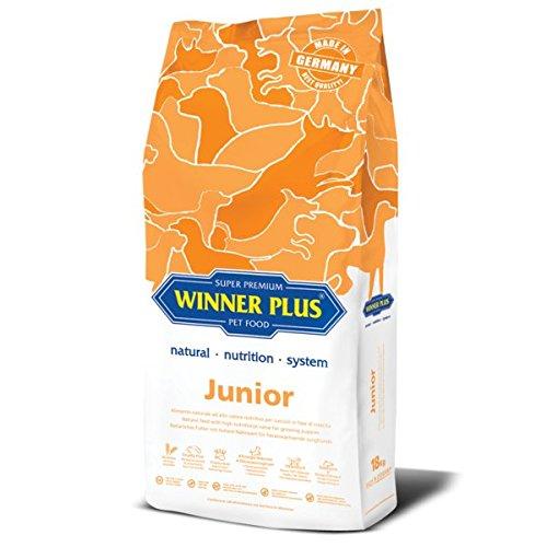 WINNER PLUS Junior 18 kg - Alimento naturale ad alto valore nutritivo per cuccioli in fase di crescita