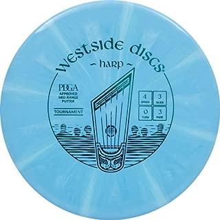 Westside Discs Tournament Burst Harp Putter Golf Disc [Colors May Vary]