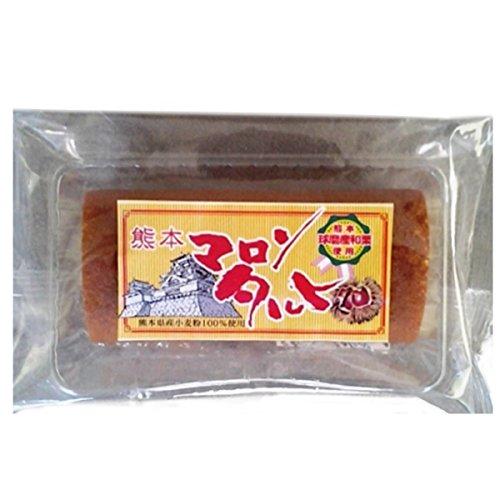 熊本 マロンあん巻 (一口) 30個×3ケース イソップ製菓 熊本産和栗使用 自家製あんこのしっとり和風ロールケーキ