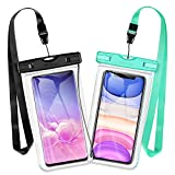 Mpow Waterproof Phone Pouch, New Type TPU Waterproof Case, One-Piece Design Cellphone Dry
