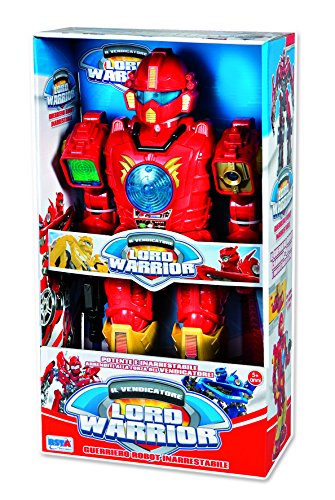 RSTA 9289 - Robot Guerriero Lord Warrior a Batteria