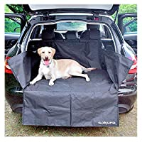 FITS nearly all cars, estates, 4 x 4s, SUVs, hatchbacks and is easy to fit GENEROUS size 106 x 97 x 37 cm or 42 x 38 x 15 inches PROTECTS your boot carpet, plastic/metal surfaces, bumper and boot lip FLEXIBLE fit has hook & loop, tough zippers, poppe...
