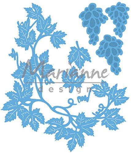 Marianne Design Creatables Tiny's Vines Die, Metal, Blue, 16.1 x 11.3 x 0.2 cm