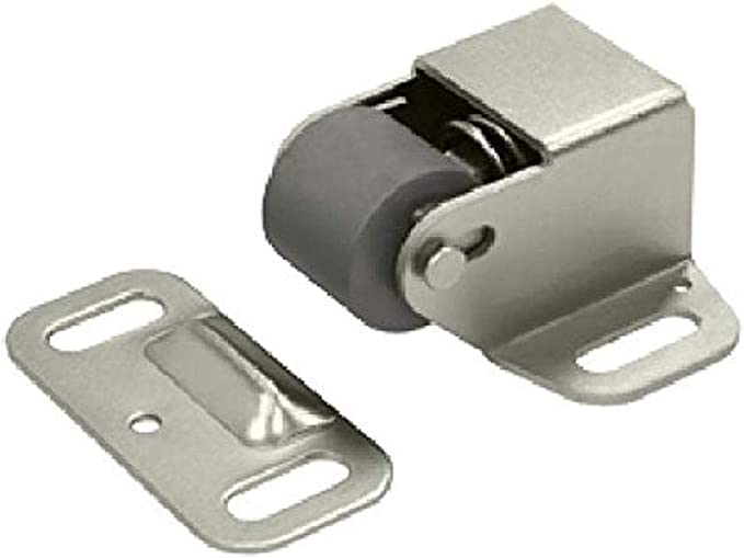 Door Roller Catch Adjustable Roller Push In Roller /& Screw To Adjust 58mm Approx
