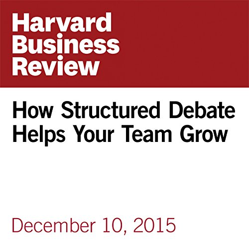 How Structured Debate Helps Your Team Grow copertina