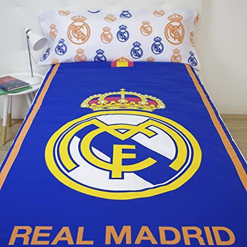 10XDIEZ Funda nórdica Real Madrid 186004   (Cama de 90cm - Lila)