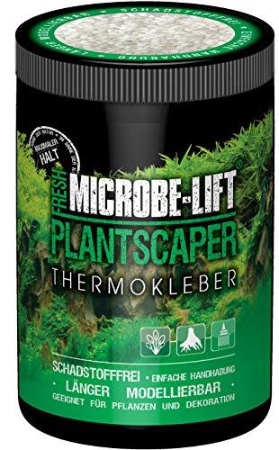 MICROBE-LIFT Plantscaper - Thermo-Pflanzenkleber, Biopolymer Kleber, einfache Handhabung, perfekt zur Befestigung von Pflanzen & Dekorationen in jedem Süßwasseraquarium, 250ml / 175g