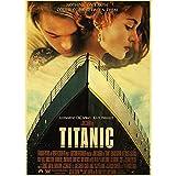 Sixinguang Poster Leonardo Dicaprio Classic Movie Titanic