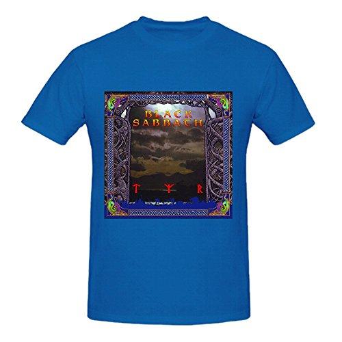 Black Sabbath Tyr Men Printed T Shirts O Neck XXX-Large
