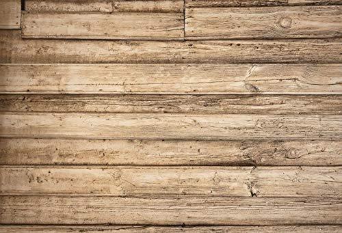 Fondo de fotografía de Retrato de Textura de tablón de Tablero de Madera Antiguo Fondos fotográficos Personalizados para Estudio fotográfico A8 9x6ft / 2,7x1,8 m