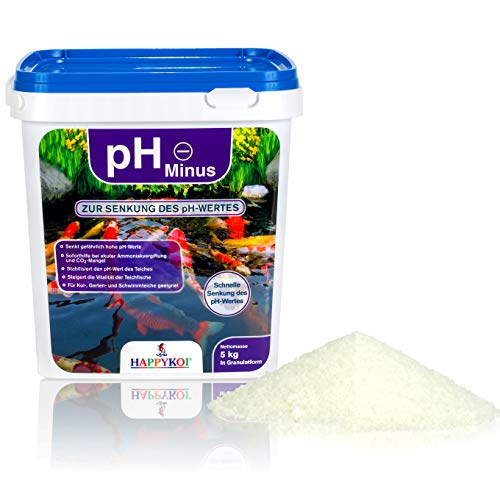 HAPPYKOI® pH Minus zur Senkung des pH Wertes im Teich in Granulatform...
