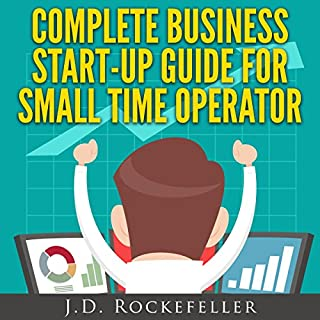 Complete Business Start-Up Guide for Small Time Operator audiobook cover art