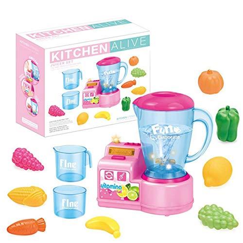chora Cocina Juguete Juguetes Educativos Cocina Licuadora para Niños Herramienta de Aprendizaje de Regalos para Niños y Niñas