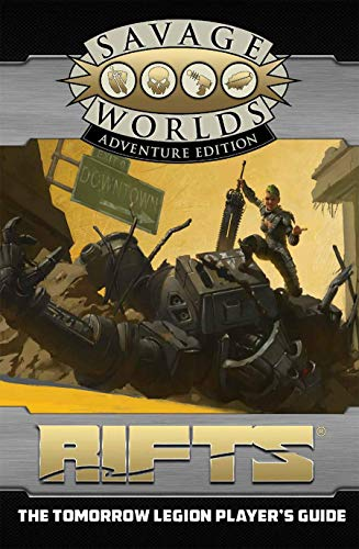 Rifts : The Tomorrow Legion Player's Guide Revised SWADE Edition (S2P11200RE)