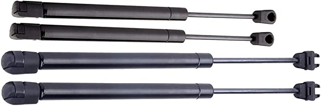 Hood and Trunk Lift Support Gas Struts Fit 2005-2008 Chrysler 300 TUPARTS Automotive Replacement Shock Lift Supports