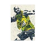 Sport-Poster Usain Bolt Leinwand Poster Schlafzimmer Dekor